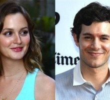Leighton Meester and Adam Brody Walk First Post-Wedding Red Carpet
