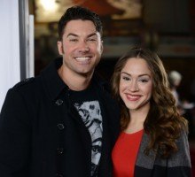 Newlyweds Ace Young and Diana DeGarmo Start Holiday Traditions