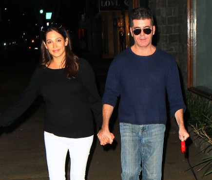 celebrity couples, Simon Cowell, Lauren Silverman