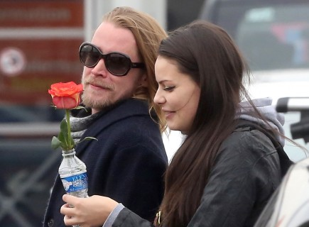 Cupid's Pulse Article: Macaulay Culkin Kisses New Girlfriend Jordan Lane Price in Paris