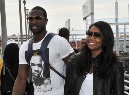 Dwyane Wade, Gabrielle Union, engagement