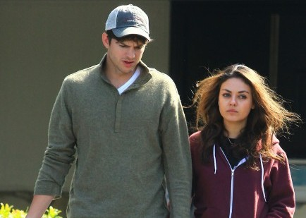 celebrity couples, Mila Kunis, Ashton Kutcher