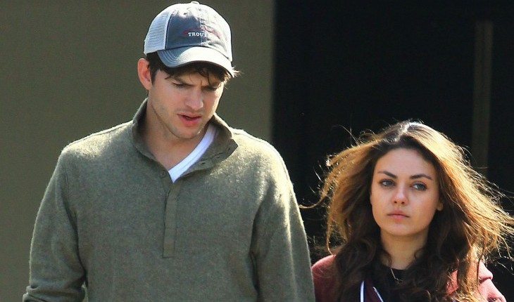 Cupid's Pulse Article: Ashton Kutcher and Mila Kunis Share a Romantic Night in Rome