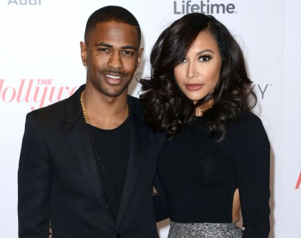 celebrity couples, Big Sean, Naya Rivera, Glee