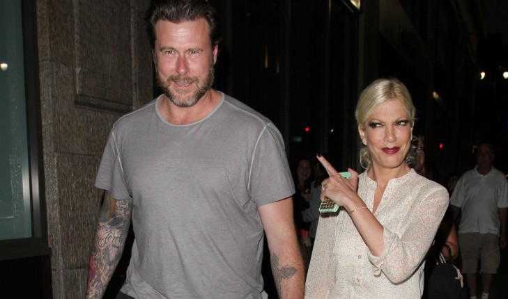 Cupid's Pulse Article: Celebrity Couple: Tori Spelling Slams Rumors That She Is Divorcing Dean McDermott