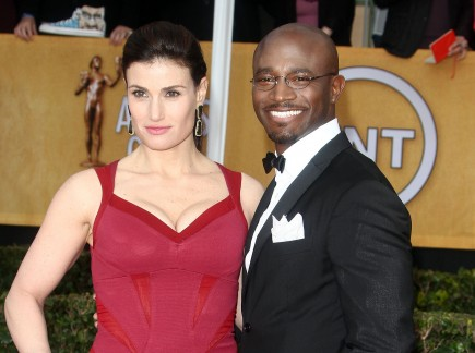 celebrity couples, Taye Diggs, Idina Menzel, separate,