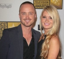 Find Out What Romantic Thing Aaron Paul Tells His Wife Every Day