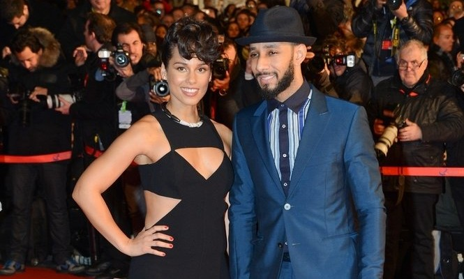 Cupid's Pulse Article: Alicia Keys Throws Husband Swizz Beatz Roller Skating Birthday Bash