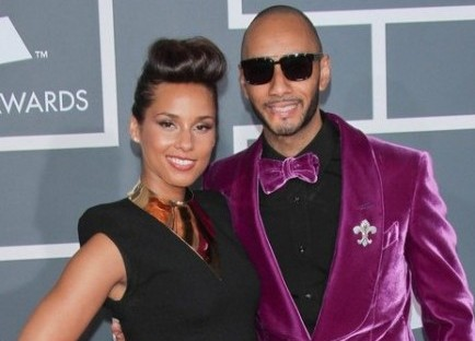Alicia Keys and Swizz Beatz. Photo: Andrew Evans / PR Photos