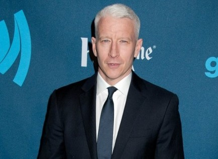 Cupid's Pulse Article: Celebrity News: Anderson Cooper Thanks Boyfriend Ben Maisani at GLADD Awards