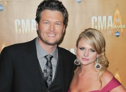Blake Shelton and Miranda Lambert. Photo: Bob Charlotte / PR Photos