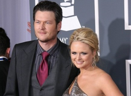 Blake Shelton and Miranda Lambert. Photo: Andrew Evans / PR Photos
