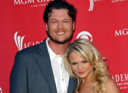 Blake Shelton and Miranda Lambert. Photo: Albert L. Ortega / PR Photos