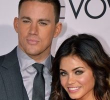 Celebrity Couple: Channing Tatum and Jenna Dewan-Tatum Hold Hands on Dog Walk