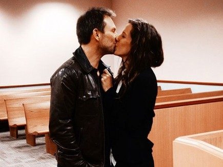 Cupid's Pulse Article: Christian Slater Marries Brittany Lopez