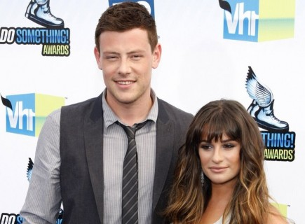Cory Monteith and Lea Michele. Photo: David Gabber / PR Photos