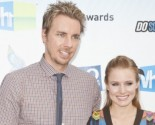 Kristen Bell and Dax Shepard Share Laughs at Lunch