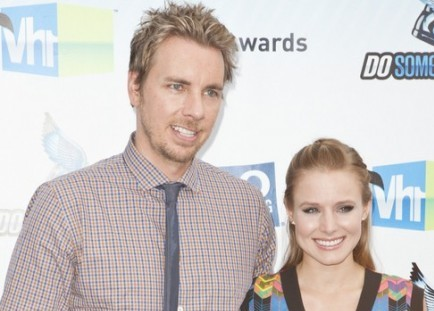 Cupid's Pulse Article: Kristen Bell and Dax Shepard Share Laughs at Lunch