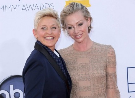 Celebrity Tell-All Authors: Ellen DeGeneres and Portia de Rossi