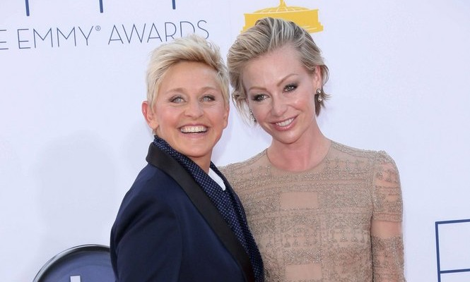 Cupid's Pulse Article: Celebrity News: Portia de Rossi Stands By Ellen Degeneres Amid Talk Show Accusations