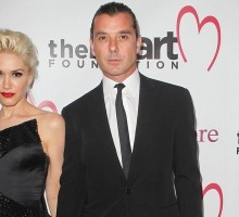 Celebrity Couple Gwen Stefani & Gavin Rossdale Visit a Park with Their Sons