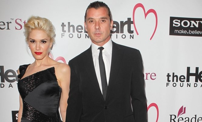 Cupid's Pulse Article: Celebrity Couple Gwen Stefani & Gavin Rossdale Visit a Park with Their Sons