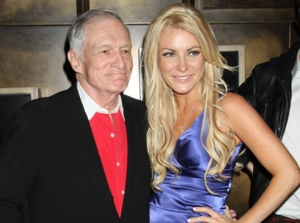 Hugh Hefner and Crystal Harris. Photo: PRN / PR Photos
