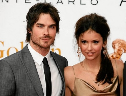 Ian Somerhalder and Nina Dobrev. Photo: Pixplanete / PR Photos