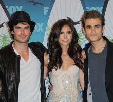Nina Dobrev Admits to Fighting Feelings for Costar Ian Somerhalder