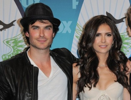 Ian Somerhalder and Nina Dobrev. Photo: Bob Charlotte / PR Photos