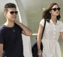 Celebrity Couple: Keira Knightley and James Righton Return to London Post-Honeymoon in Corsica