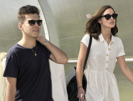 Cupid's Pulse Article: Celebrity Couple: Keira Knightley and James Righton Return to London Post-Honeymoon in Corsica