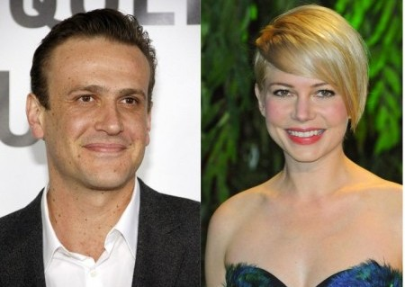 Jason Segel and Michelle Williams. Photo: David Gabber / PRPhotos.com; Solarpix / PR Photos