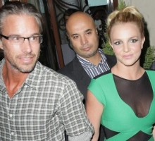 Britney Spears and Jason Trawick Take Her Boys to Las Vegas