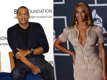 Jay-Z and Beyonce. Photo: Janet Mayer / PR Photos; Albert L. Ortega / PR Photos