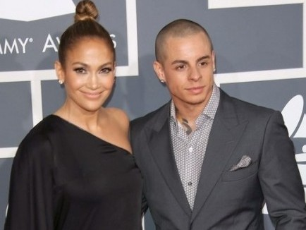 Jennifer Lopez and Casper Smart. Photo: Andrew Evans / PR Photos
