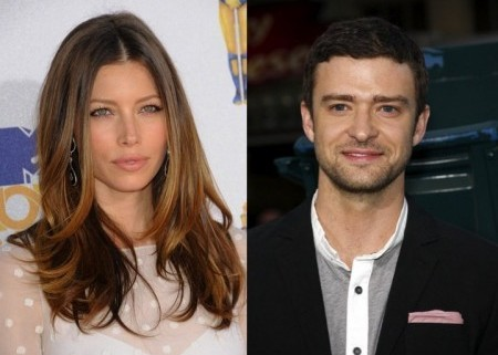Jessica Biel and Justin Timberlake. Photo: Bob Charlotte / PR Photos; David Gabber / PR Photos