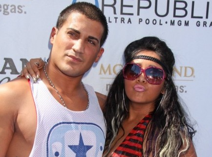 Jionni LaValle and Snooki. Photo: PRN / PR Photos