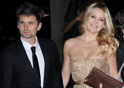Matthew Bellamy and Kate Hudson discuss marriage. Photo: KM/Flynetpictures.com