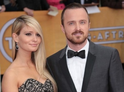 aaron paul and lauren parsekian relationship tips