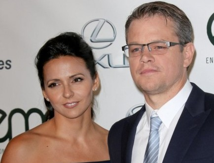 Cupid's Pulse Article: Celebrity Couple: Matt Damon and Wife Luciana Renew Wedding Vows