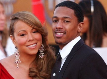 Cupid's Pulse Article: Nick Cannon and Mariah Carey Bid ,000 on Shoes at a Charity Event