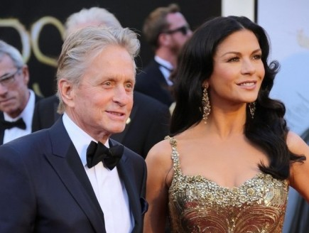 Michael Douglas and Catherine Zeta-Jones. Photo: Andrew Evans / PR Photos