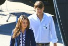Mila Kunis and Ashton Kutcher. Photo: VM/CPR/Dino/FAMEFLYNET PICTURES