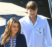 Ashton Kutcher & Mila Kunis Celebrate Top Secret Celebrity Marriage