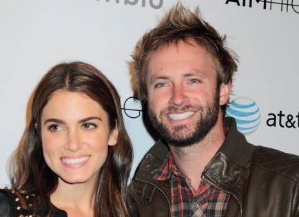 Nikki Reed and Paul McDonald. Photo: Tina Gill / PR Photos
