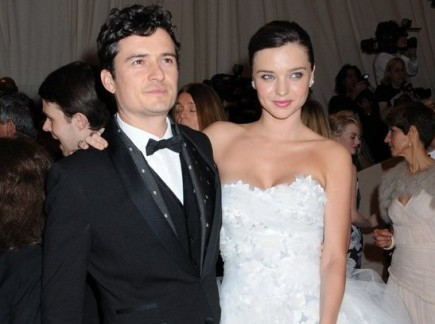 Orlando Bloom and Miranda Kerr. Photo: Janet Mayer / PR Photos