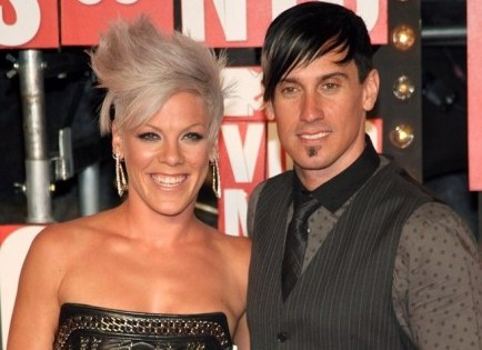 PInk and Carey Hart. Photo: Sylvain Gaboury / PR Photos