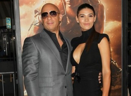 Vin Diesel and Paloma Jimenez. Photo: Andrew Evans / PR Photos