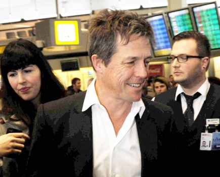 Cupid's Pulse Article: Hugh Grant Fathers Third Love Child With Swedish TV Producer